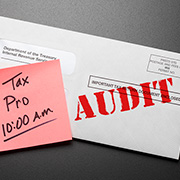 IRS audit notice