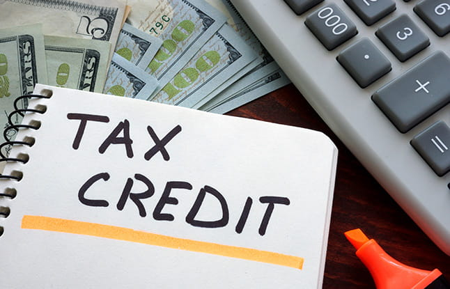 tax credit note