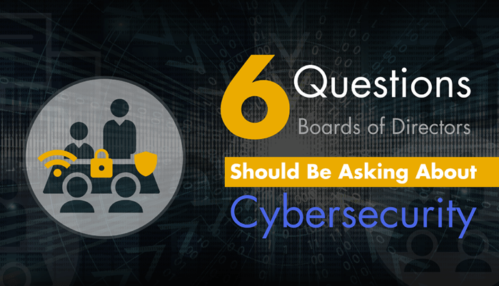 6 Questions for Boards on Cybersecurity