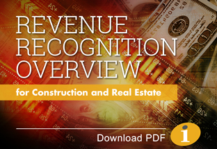 Revenue Recognition Services for Construction and Real Estate