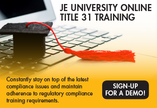 JE University Online Title 31 Training - Sign Up now