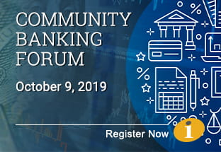 Community Banking Forum October 2019