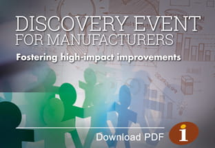 Discovery Event for Manufacturers