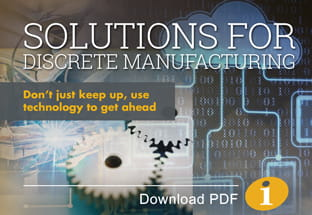 Solutions for Discrete Manufacturing