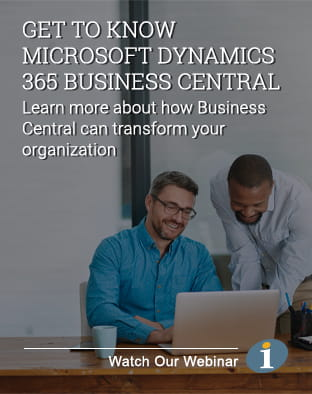 Microsoft Dynamics 365 Business Central Webinar