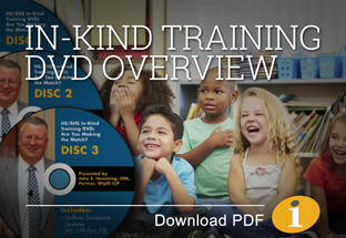 In-Kind Training DVD
