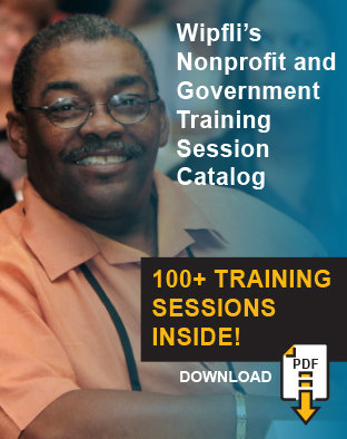 Nonprofit and Government Training Catalog