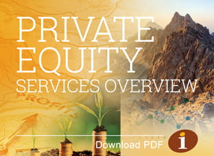 Private Equity Services Overview