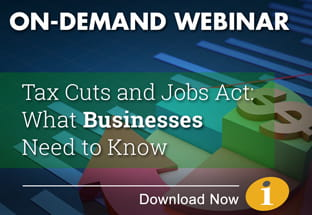 On Demand Webinar - Tax reform for Businesses