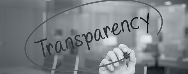 agreed upon procedures transparency