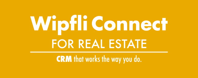 WipfliConnect for Real Estate CRM Accelerator