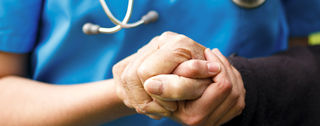 providing care to the elderly