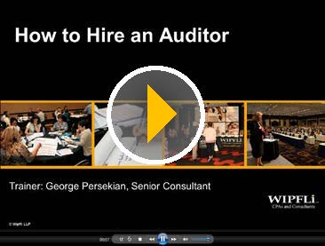How to Hire an Auditor
