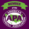 American Payroll Association Member logo