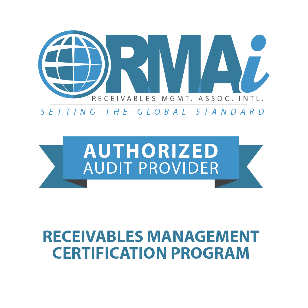 Receivables Mgmt Certification Program badge
