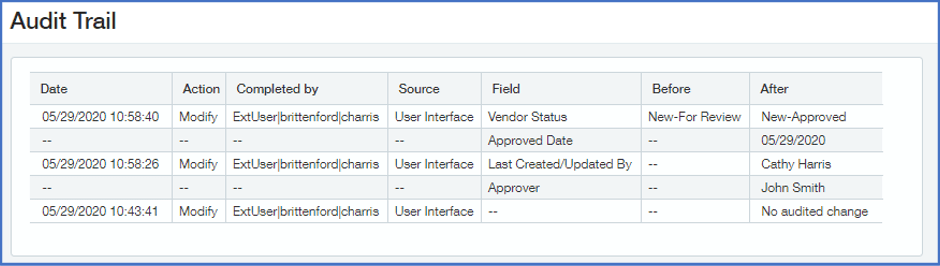 Step-by-step vendor approval workflow in Sage Intacct
