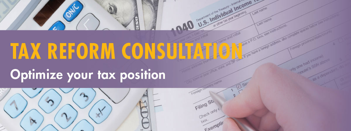 Tax Reform Consultation