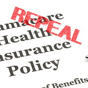 repeal and replace the Affordable Care Act