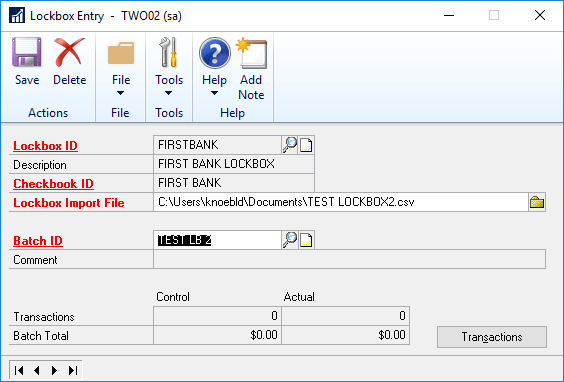 Dynamics GP Import Your Cash Receipts Without an Integration Tool