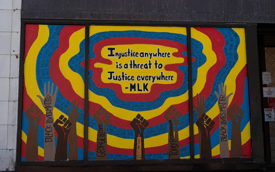 Mural - MLK Quote