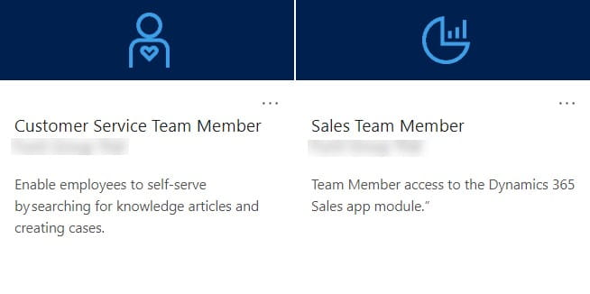 Customer service and sales team member apps