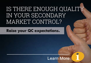 Is there enough quality control in your secondary market control