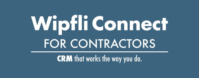 Wipfli Connect for Contractors