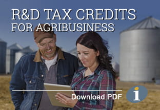R&D Tax Credits for Agribusiness