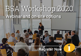 BSA Workshop 2020 | Register Now