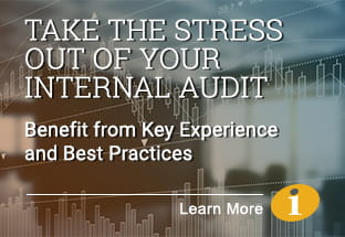 Take the stress out of your internal audit - learn more