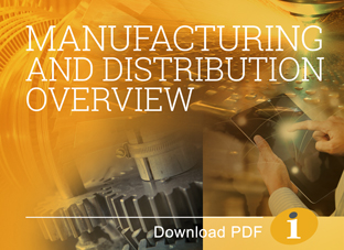 Manufacturing & Distribution Services Overview