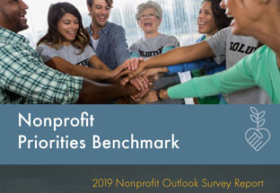 2019 Nonprofit Outlook Survey Report - Priority Benchmarks