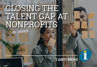 Closing the talent gap at nonprofits - Learn more