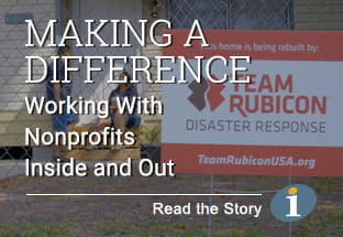 Team Rubicon Making a Difference - Working With Nonprofits Inside and Out - Read the Story