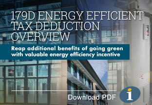 179D Energy Efficient Tax Deduction