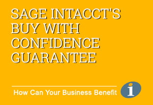 Sage Intacct's Buy With Confidence Guarantee